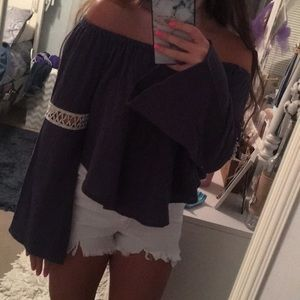 NWT Off the shoulder top